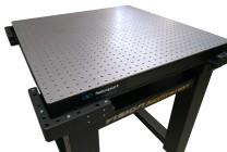 Table antivibratoire sur coussin d'air